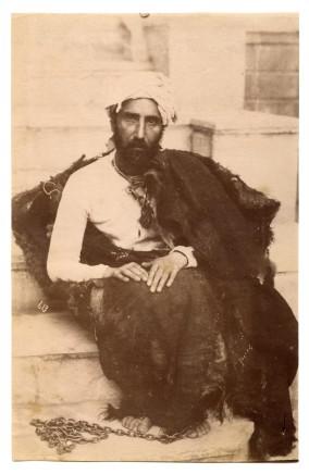Antoin Sevruguin, Mirza Reza Kermani, 1896