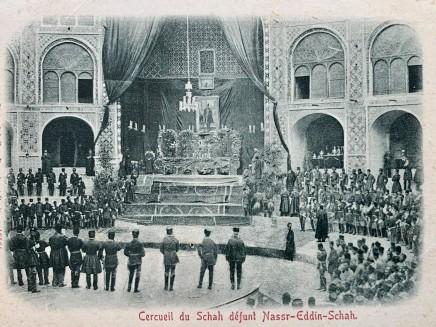Dmitri Ivanovich Ermakov, Naser al-Din Shah Qajar lying in state in the Takiah Dawlat, 1896