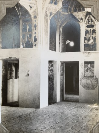 John Drinkwater, The music room in the Ali Qapu palace, 1934