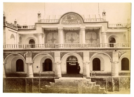 Antoin Sevruguin, The palace of Mass'oud Mirza Zell-e Soltan, Late 19th Century