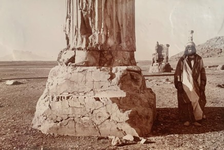 Ernst Herzfeld, padana, Audience Hall, Column Base with Square Two-Stepped Plinth and Discoid Torus, Persepolis, 1923-28