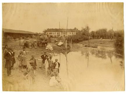 Antoin Sevruguin, Piri Bazaar, Late 19th Century