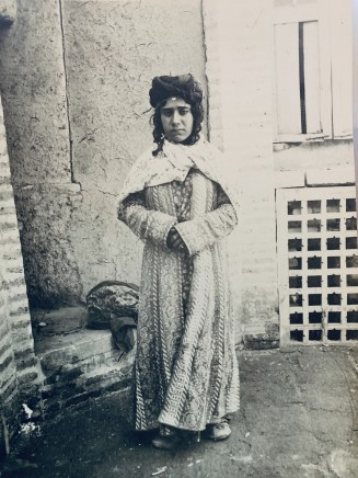 Antoin Sevruguin, A Kurdish woman from Kermanshah, Late 19th Century