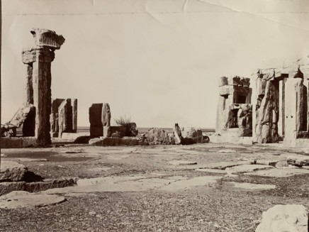 Ernst Herzfeld, Palace of Xerxes, Main Hall, Persepolis, 1923-28