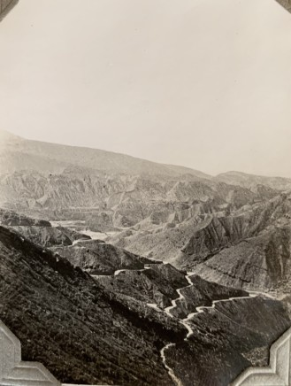 John Drinkwater, Views from the Shiraz to Bushehr road, 1934