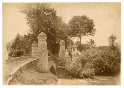 Antoin Sevruguin, Bridge at Kuhdum, near Rasht, Late 19th Century