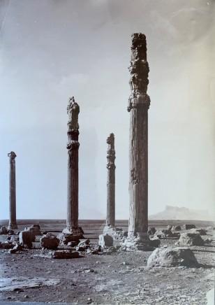 Ernst Herzfeld, Apadana, Columns of Audience Hall and West Portico, Persepolis, 1923-28