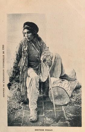 Antoin Sevruguin, Young Dervish, 1900