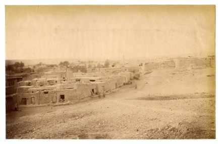 Antoin Sevruguin, The village of Kashkabad (Maneh), Late 19th Century