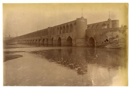 Antoin Sevruguin, The Allahverdi Khan bridge, Late 19th Century