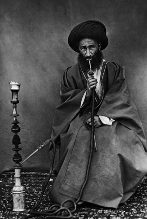 Rev. C.H. Stileman, Another Sayd, named Ali smoking the water-pipe, Late 19th Century
