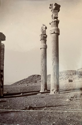 Ernst Herzfeld, Gate of All Lands, Two Standing Columns of Stone, 1923-28