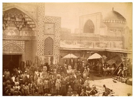 Antoin Sevruguin, Shrine of Imamzadeh Habib-Ibn Musa, Kashan, Late 19th Century