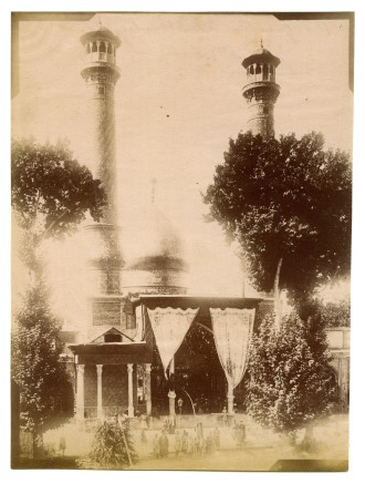Antoin Sevruguin, Shrine of Hazrat-e Abd ol-Azim in Rey, Late 19th Century