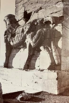 Ernst Herzfeld, Gate of All Lands, Colossal Sculpture Depicting a Bull, Persepolis, 1923-28