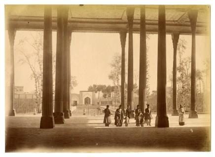 Antoin Sevruguin, Chehel Sotoun, Isfahan, Late 19th Century