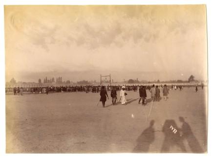 Antoin Sevruguin, Public hanging of Mirza Reza Kermani, 1896