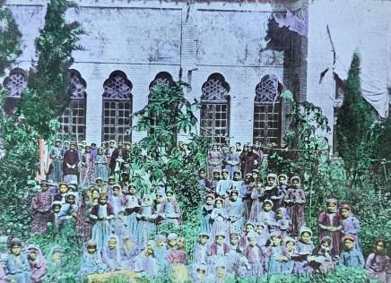Not known, Armenian girls school, Julfa, Late 19th Century, Early 20th Century