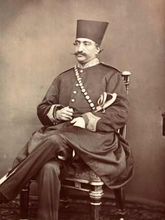 Not known, Naser al-Din Shah Qajar, Late 19th Century