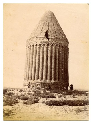 Antoin Sevruguin, The Radkan tower in Khorasan, Late 19th Century