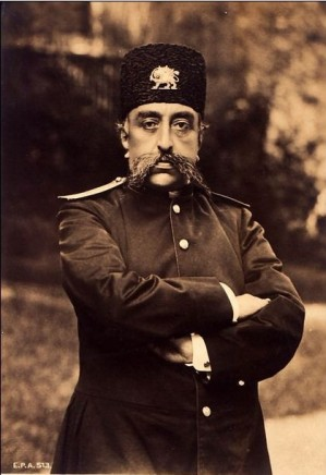 Not known, Mozaffar ad-Din Shah Qajar, 1896