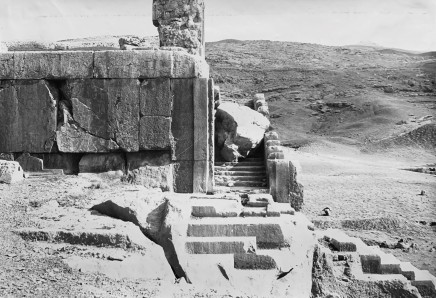 Ernst Herzfeld, Palace of Xerxes, Balcony and the Southern Stairway, Persepolis, 1923-28