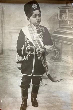 Antoin Sevruguin, Ahmad Shah Qajar, Ealy 19th Century