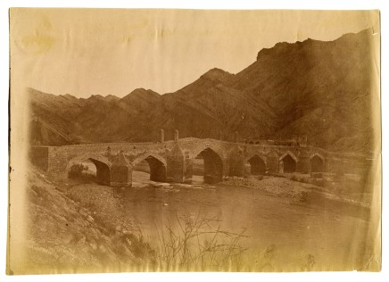 Antoin Sevruguin, A stone bridge over the Daliki river, Late 19th Century