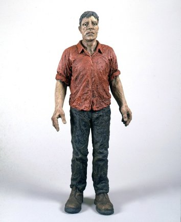 Standing Man (Red Shirt), 1996