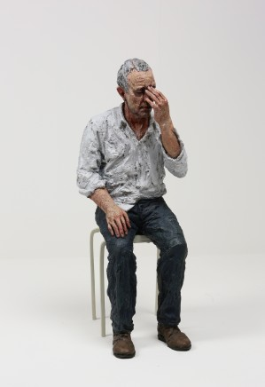 Untitled (Man on a Stool), 2010