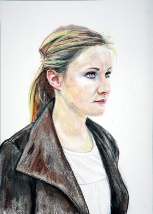 Portrait of a young woman, 2011