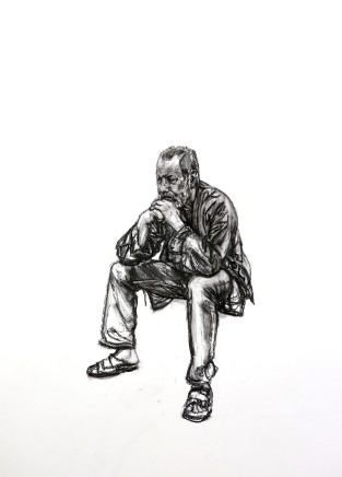 Seated Man 3, 2016