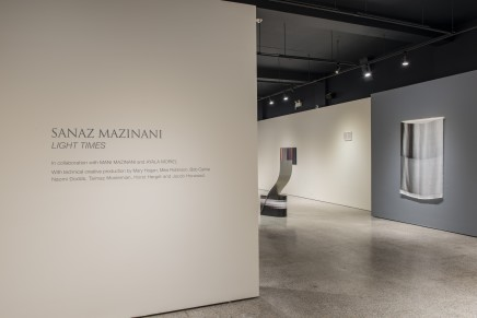 Sanaz Maznani Light Times Installation Photos 1
