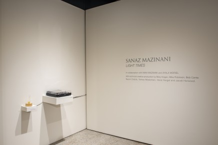 Sanaz Maznani Light Times Installation Photos 3