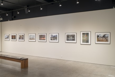 Bruno Barbey Witness Of Things Past Installation Photos 7