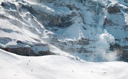 Scott Conarroe, Avalanche, Grindelwald, 2019