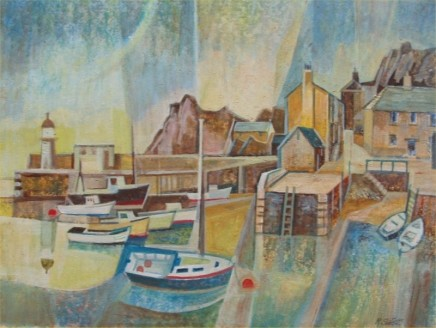 Richard Slater - OVERLOOKING THE HARBOUR