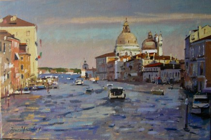 Bruce Yardley - LATE AFTERNOON SUN, GRAND CANAL