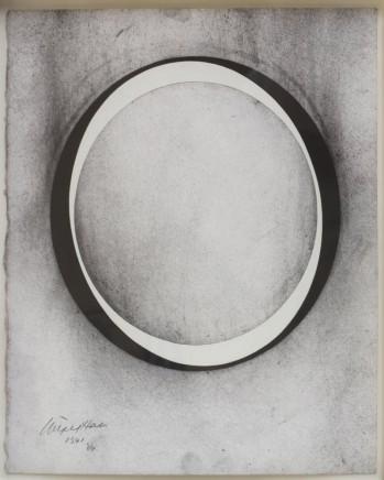 1341, 2004 Acrylic and charcoal 38 x 32.5 cm