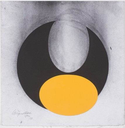 1730, 2017 Acrylic and charcoal 35.5 x 35 cm