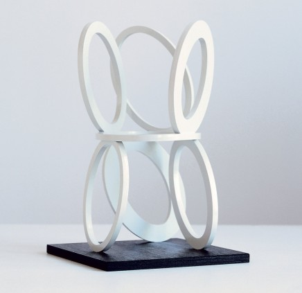 Slow Motion Painted steel Ed. 14/25 22 x 13 x 13 cm