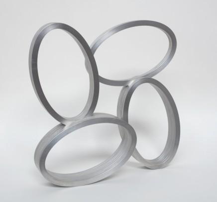 Spin Cycle, 2017 Aluminium Edition 2/2 38.7 x 39.4 x 8.3 cm