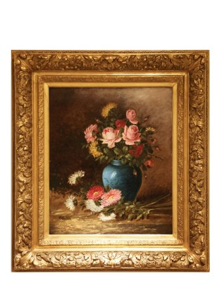 A. Gondois, Bouquet of Roses, 19th Century
