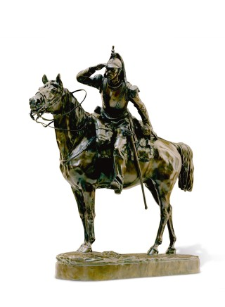 Mathilde De Thomas, Carabinier a Cheval (Mounted Rifleman)