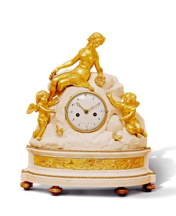 Mantel Clock, end of 18th century