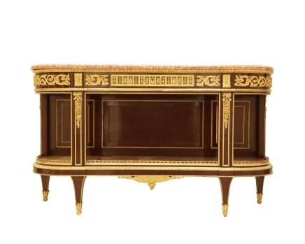 Henry Dasson, Console dessert table Louis XVI style, 1880