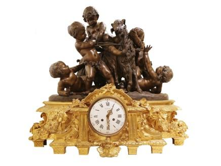 Jean-Francois Deniere, Mantel clock, Late 19th century
