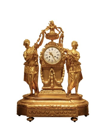 Japy Frères, Mantle Clock, End of 19th century