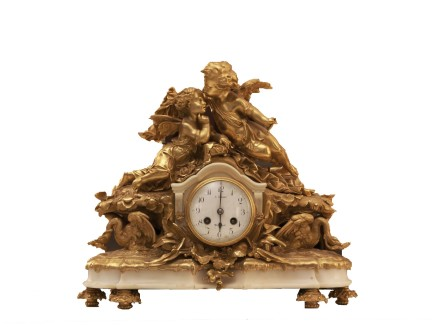 Mantle clock, end of 19th century
