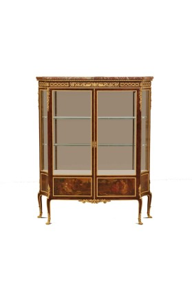 G. Grimard, Louis XVI/Transition Style Display cabinet, 2nd half of 19th century